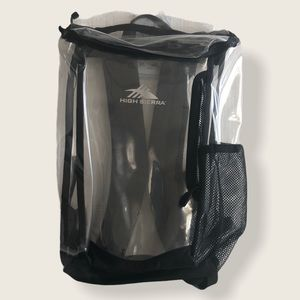 HIGH SIERRA CLEAR BACKPACK (unisex)